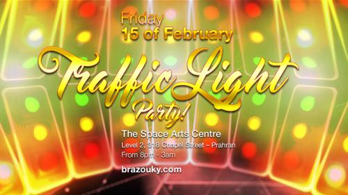 15th Feb 2019 - Traffic Light Party!